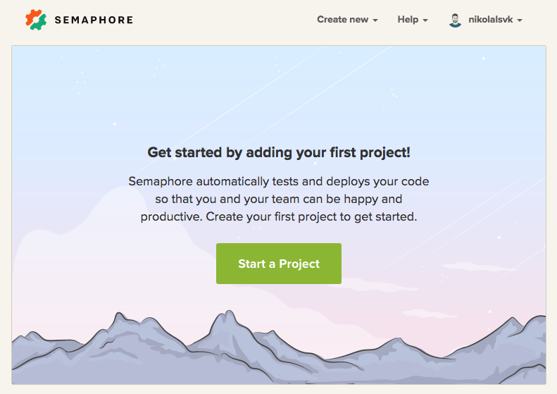 Adding your GitHub or Bitbucket project to Semaphore Classic - Semaphore